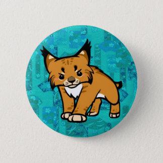 Bob Cat 2 Inch Round Button