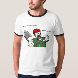 Bob Chandler Lumberjack Ringer T-Shirt
