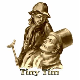 Bob Cratchit and Tiny Tim Christmas Carol Photo Sculptures