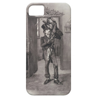 Bob Cratchit and Tiny Tim, from 'Charles Dickens: iPhone 5 Cover