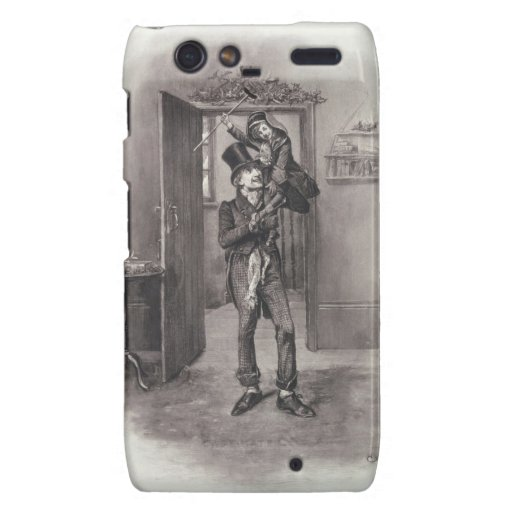 Bob Cratchit and Tiny Tim, from 'Charles Dickens: Droid RAZR Cover
