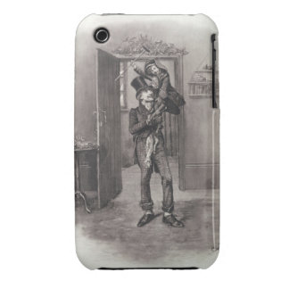 Bob Cratchit and Tiny Tim, from 'Charles Dickens: Case-Mate iPhone 3 Case