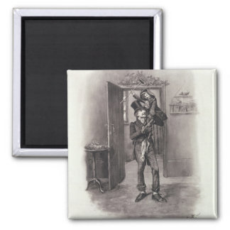 Bob Cratchit and Tiny Tim, from 'Charles Dickens: Magnet