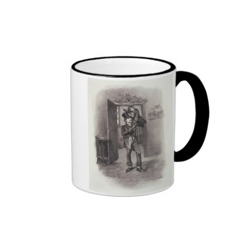 Bob Cratchit and Tiny Tim, from 'Charles Dickens: Mugs