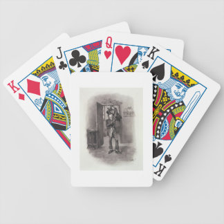 Bob Cratchit and Tiny Tim, from 'Charles Dickens: Poker Deck