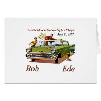 Bob Ede Brithday Card