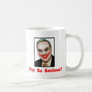 Bob Filner: Why So Serious? Classic White Coffee Mug