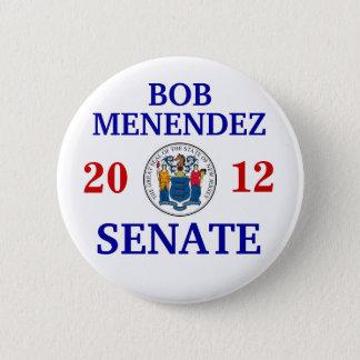 BOB MENENDEZ FOR SENATE 2 INCH ROUND BUTTON