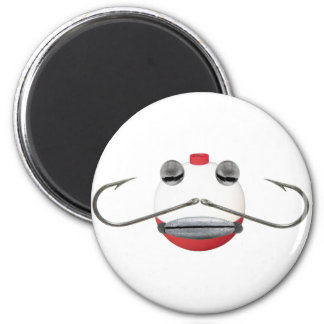 Bob the Bobber 2 Inch Round Magnet