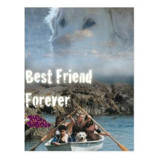 Bob The Dog - Best Friend Forever Postcard