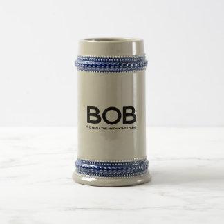 Bob The Legend Beer Stein