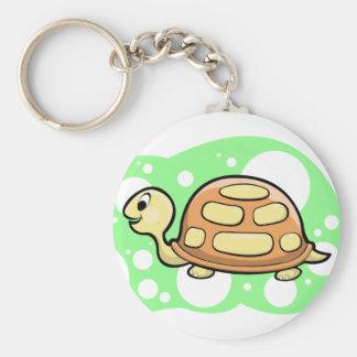 Bob the Turtle Illustration Keychain
