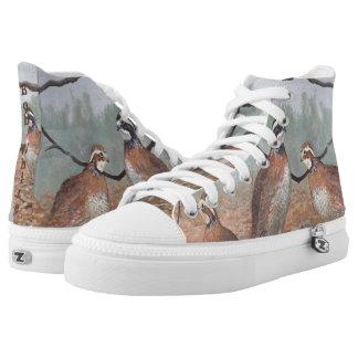 Bob-White Quail High-Top Sneakers