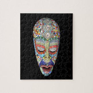 Bob, Why the Long Face? Mosaic Mask Jigsaw Puzzle