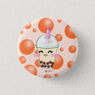 Boba Bubble Milk Tea Button