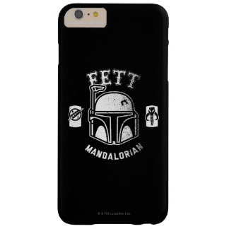 Boba Fett Badge Barely There iPhone 6 Plus Case
