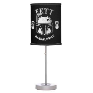 Boba Fett Badge Table Lamp