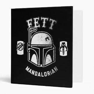 Boba Fett Badge Vinyl Binders