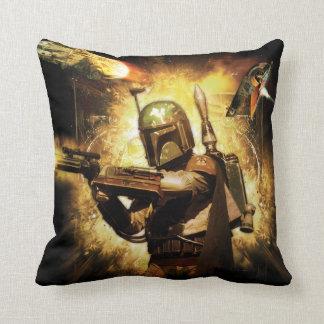 Boba Fett Graphic Pillows