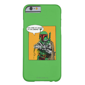 Boba Fett Illustration Barely There iPhone 6 Case