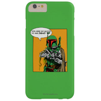 Boba Fett Illustration Barely There iPhone 6 Plus Case