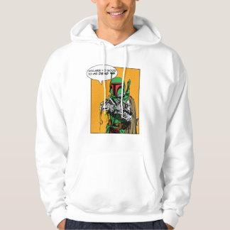 Boba Fett Illustration Hooded Pullover