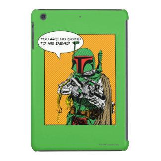 Boba Fett Illustration iPad Mini Cases