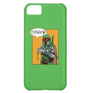 Boba Fett Illustration iPhone 5C Cases