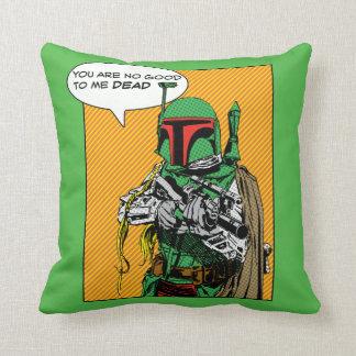 Boba Fett Illustration Pillows