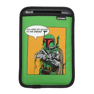 Boba Fett Illustration Sleeve For iPad Mini