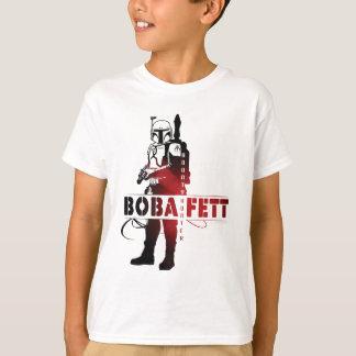 Boba Fett Line Art T Shirts