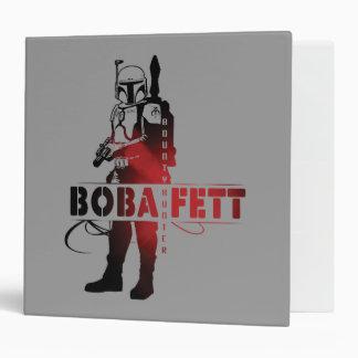 Boba Fett Line Art Vinyl Binders