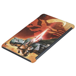 Boba Fett Shooting iPad Mini Covers