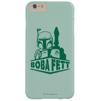 Boba Fett Stencil Barely There iPhone 6 Plus Case
