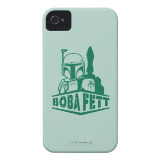 Boba Fett Stencil Case-Mate iPhone 4 Cases