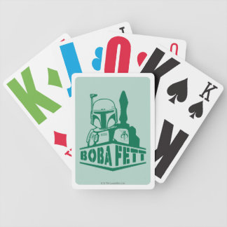 Boba Fett Stencil Deck Of Cards