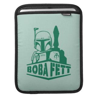 Boba Fett Stencil iPad Sleeve