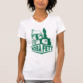 Boba Fett Stencil T Shirts
