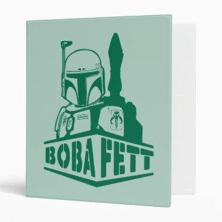 Boba Fett Stencil Vinyl Binders
