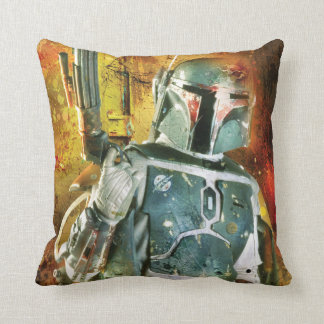 Boba Fett Stylized Throw Pillows