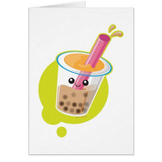 Boba Tea Card