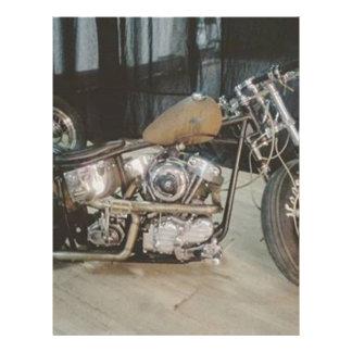 bobber bike letterhead