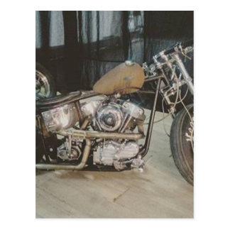 bobber bike postcard