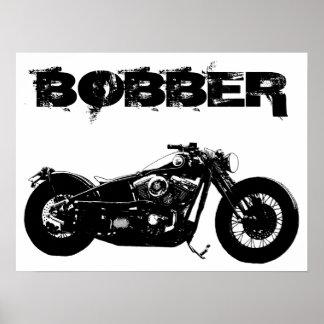 Bobber Bike Poster