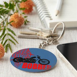 Bobber Motorbike Keychain