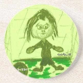 Bobbie-Goalie Coaster
