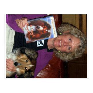 Bobbie Pyron Author of A Dog's Way Home Postcard