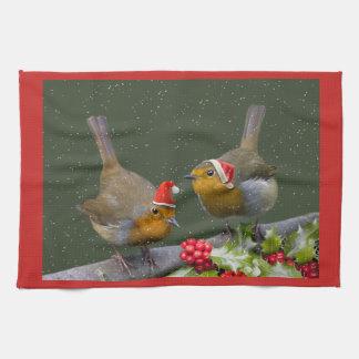 Bobbin' Robins Kitchen Towel
