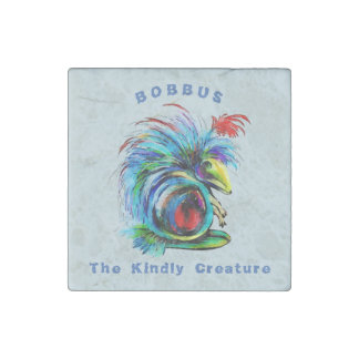 Bobbus the Kindly Creature Stone Magnets