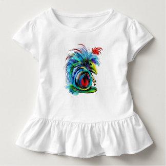 Bobbus Toddler Girls' Cotton Ruffled Tee